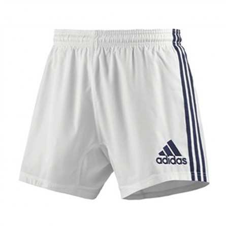 Short RUGBY Enfant 3 Stripes SHO Y Training Blanc