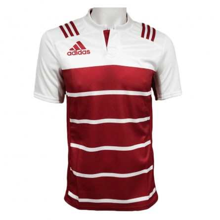 Maillot de Rugby enfant TW H Jersey SS Youth Rouge blanc